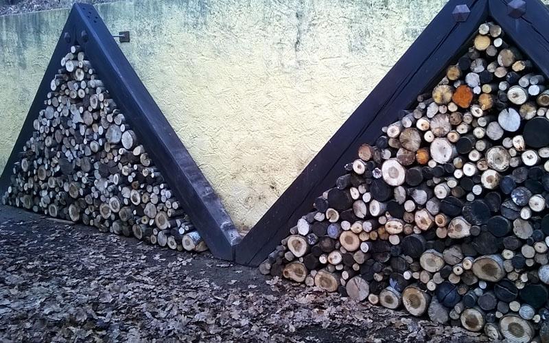 Création d'un abris de bois original
