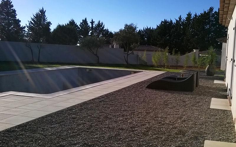 Dalle de terrasse dans le var
