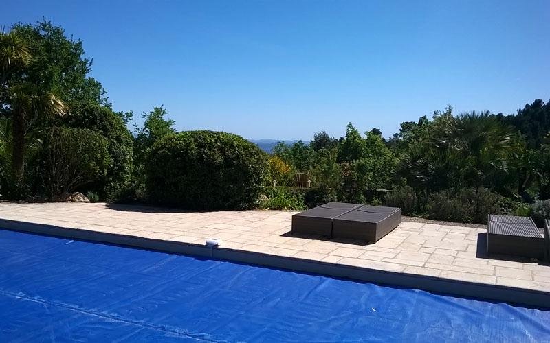 Rréalisation de terrasse de piscine à Draguignan